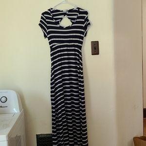 Maternity Stretchy Long Length Dress Large